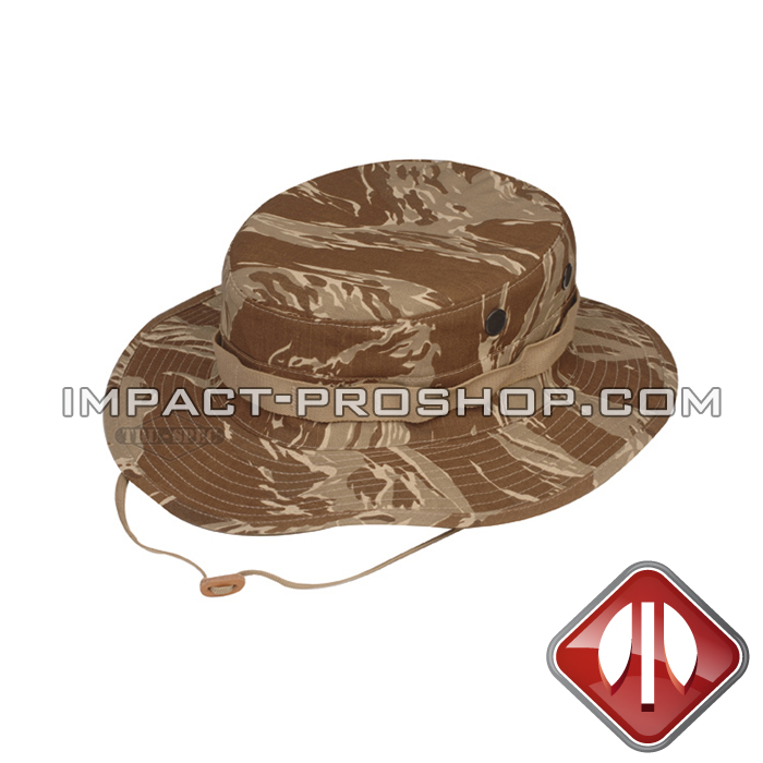 e5bcaa3ae19e9 boonie hat original desert tiger stripe rip stop with loops