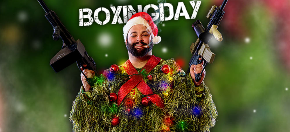 Paintball boxing day 2018