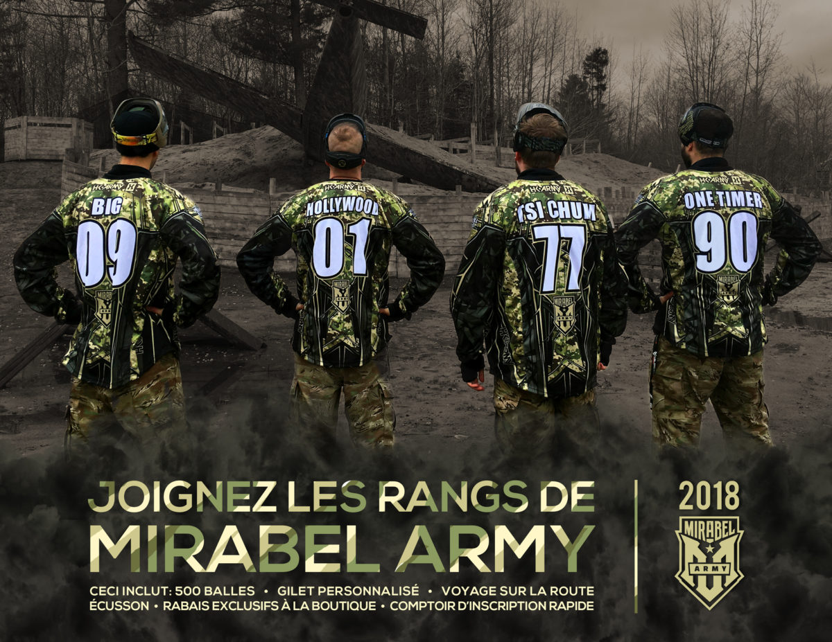 MIRABEL ARMY 2018 – A gift for true paintball fans