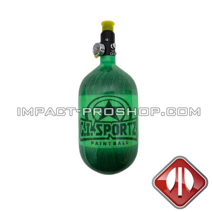 GISPORTZ AIR TANK GI 68/4500 GREEN