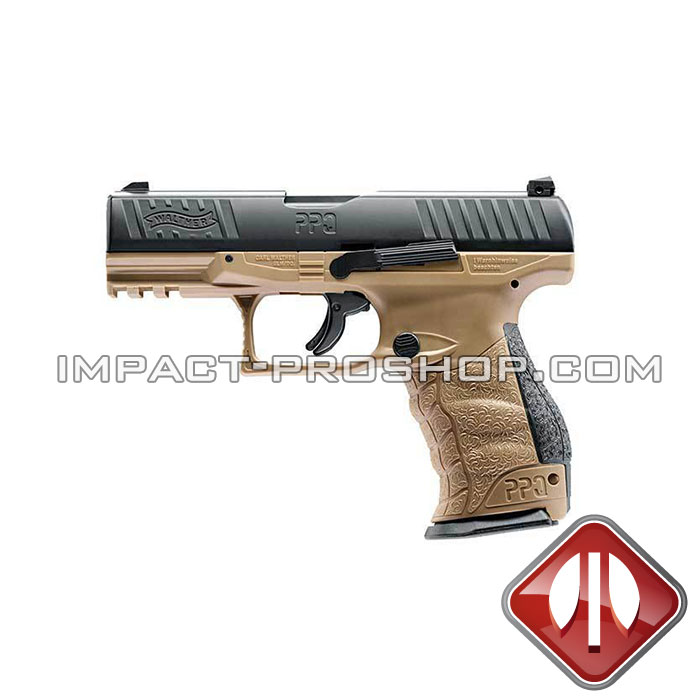 T4E WALTHER PPQ .43 CAL FDE airsoft pistol