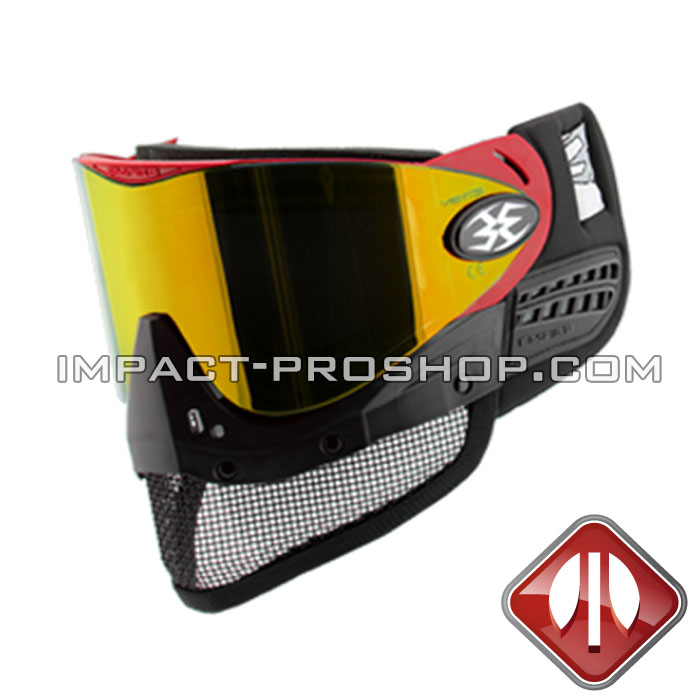 MASK EMPIRE AIRSOFT E-MESH RED