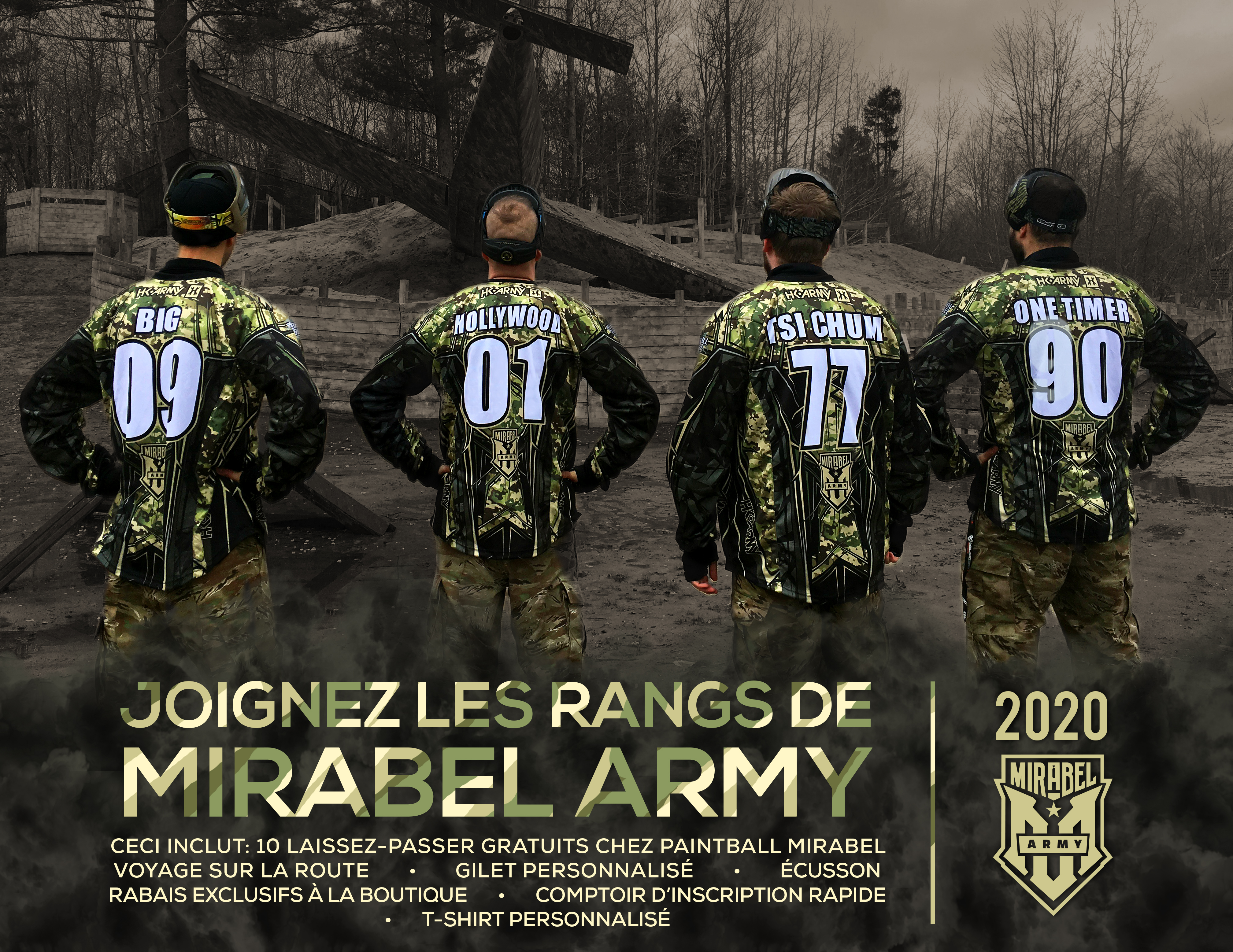 MIRABEL ARMY – A gift for true paintball fans