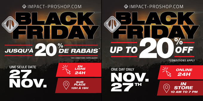 Black Friday, one date only!