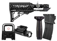 paintball gun externals