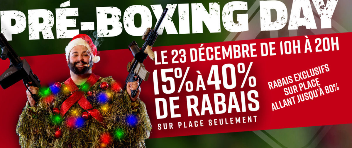 The Pre-Boxing Day Sale 2020! December 23rd!